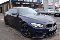 USED 2015 65 BMW M4 3.0 M4 2d AUTO 426 BHP RARE 1 OFF SPEC, INDIVIDUAL WITH CARBON MODS