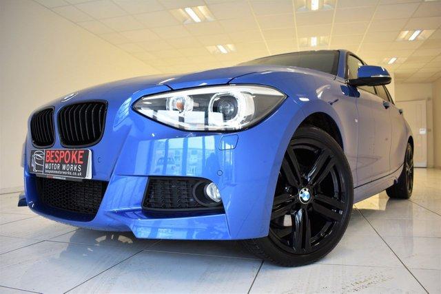 2014 64 BMW 1 SERIES 120D XDRIVE M SPORT 5 DOOR