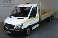 USED 2013 63 MERCEDES-BENZ SPRINTER 2.1 313 CDI LWB RWD 129 BHP S/CAB DROPSIDE LORRY REAR BED LENGTH 14 FOOT