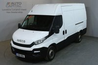USED 2016 16 IVECO DAILY 2.3 35S13V 126 BHP L2 MWB H/ROOF PANEL VAN ONE OWNER FULL S/H SPARE KEY