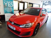 USED 2013 63 VOLKSWAGEN GOLF 2.0 GTD 5d 181 BHP Three owners, full service history including recent cambelt, January 2020 Mot. Finished in Tornado Red with Black & Grey Tarton cloth.