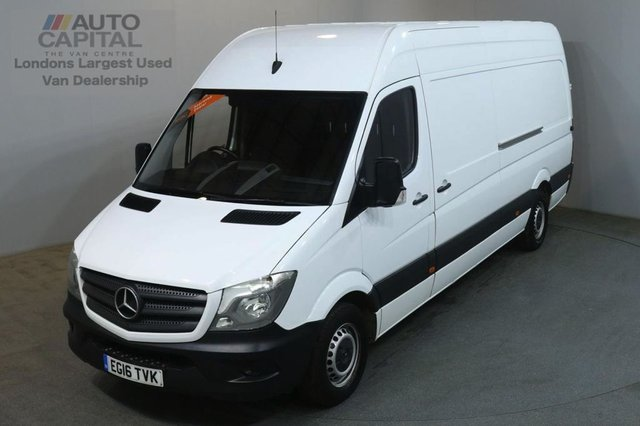 2016 16 MERCEDES-BENZ SPRINTER 2.1 313 CDI LWB 129 BHP H/ROOF PANEL VAN ONE OWNER SERVICE HISTORY