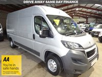 USED 2017 67 PEUGEOT BOXER 2.0 BLUE HDI 335 L3H2 PROFESSIONAL P/V 130 BHP VAN '' YOU'RE IN SAFE HANDS  ''  WITH THE AA DEALER PROMISE
