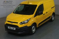 USED 2014 64 FORD TRANSIT CONNECT 1.6 240 95 BHP LWB MANUAL VAN ONE OWNER SPARE KEY