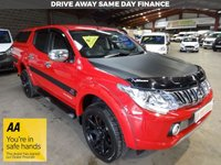 USED 2015 65 MITSUBISHI L200 2.4 DI-D 4X4 BARBARIAN DC  AUTO 178 BHP DOUBLE CAB PICK UP '' YOU'RE IN SAFE HANDS ''    WITH THE AA DEALER PROMISE