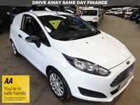 USED 2014 14 FORD FIESTA 1.5 BASE TDCI 74 BHP VAN '' YOU'RE IN SAFE HANDS  ''  WITH THE AA DEALER PROMISE