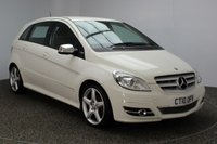 USED 2010 10 MERCEDES-BENZ B CLASS 1.5 B160 BLUEEFFICIENCY SPORT 5DR 95 BHP MERCEDES SERVICE HISTORY + HALF LEATHER SEATS + AIR CONDITIONING + RADIO/CD + ELECTRIC WINDOWS + ELECTRIC MIRRORS + 18 INCH ALLOY WHEELS