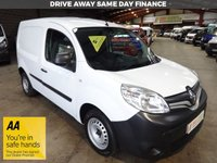 USED 2016 16 RENAULT KANGOO 1.5 ML19 BUSINESS DCI  89 BHP VAN '' YOU'RE IN SAFE HANDS  ''  WITH THE AA DEALER PROMISE