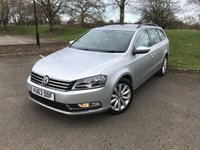 2013 VOLKSWAGEN PASSAT 2.0 HIGHLINE TDI BLUEMOTION TECHNOLOGY 5d 139 BHP £6500.00