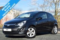 USED 2012 12 VAUXHALL CORSA 1.2 SXI 3d 83 BHP LOW 33,000 MILES! SUPPLIED WITH FRESH MOT!