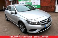USED 2015 65 MERCEDES-BENZ A-CLASS 2.1 A200 CDI SPORT 5d AUTO 136 BHP +AUTOMATIC +HALF LEATHER SEATS