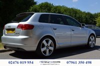 USED 2007 07 AUDI A3 TDI SPORTBACK DPF S LINE JUST HAD NEW CAM BELT AND WATER PUMP FITTED
