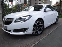 USED 2016 16 VAUXHALL INSIGNIA 1.6 SRI VX-LINE CDTI S/S 5d 134 BHP *** FINANCE & PART EXCHANGE WELCOME *** £ 20 ROAD TAX BLUETOOTH PHONE PARKING SENSORS AIR/CON CRUISE CONTROL DAB RADIO