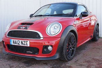 2012 MINI COUPE 1.6 JOHN COOPER WORKS 2d 208 BHP £7995.00