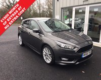 USED 2015 65 FORD FOCUS 1.5 TDCI ZETEC S NAVIGATOR 120 BHP THIS VEHICLE IS AT SITE 2 - TO VIEW CALL US ON 01903 323333