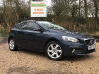 USED 2013 63 VOLVO V40 CROSS COUNTRY 1.6 D2 CROSS COUNTRY LUX 5dr AUTO £20 Tax, Leather, Cruise