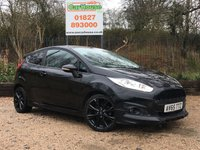 USED 2015 65 FORD FIESTA 1.0 ZETEC S BLACK EDITION 3dr £20 Per Year Tax, FFSH