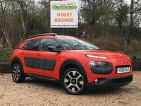 USED 2016 65 CITROEN C4 CACTUS 1.2 PURETECH FLAIR ETG S/S 5dr AUTO Sat Nav, Camera, PDC, £0 Tax!