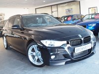 USED 2014 64 BMW 3 SERIES 2.0 320D M SPORT TOURING 5d AUTO 181 BHP M PERFORMANCE STYLING+SAT NAV