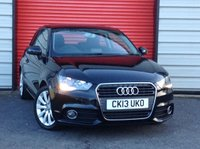USED 2013 13 AUDI A1 1.6 TDI SPORT 3d 103 BHP £0 road tax