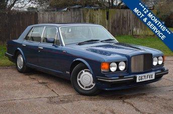 1990 BENTLEY TURBO R 6.8 1d  £10000.00