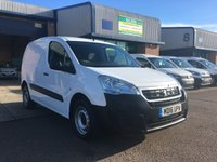 USED 2016 16 PEUGEOT PARTNER 1.6 HDI S L1 850 1d 92 BHP 67,000 MILES, E/W, 6 IN STOCK, 6 MONTHS WARRANTY & FINANCE ARRANGED. Recent full service, E/W, Radio/CD, driver's airbag, factory fitted bulk head, Side loading door, Ply-lined, 1 Owner, remote Central Locking, Drivers Airbag, CD Player/FM Radio, Steering Column Radio Control, Side Loading Door, Wood Lined, Barn Rear Doors, spare key, finance arranged on site & 6 months premium Autoguard warranty