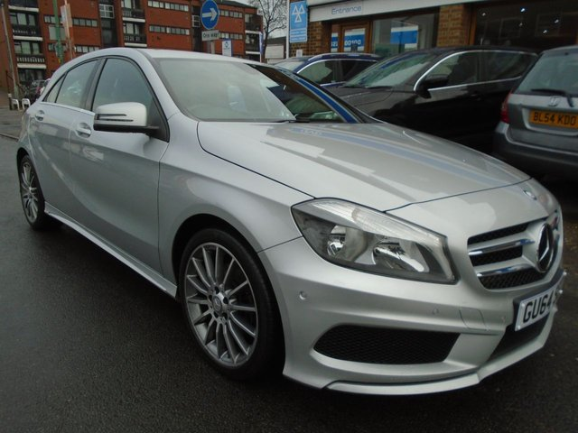 2014 64 MERCEDES-BENZ A CLASS 1.5 A180 CDI BLUEEFFICIENCY AMG SPORT 5d AUTO 109 BHP