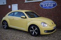 USED 2014 14 VOLKSWAGEN BEETLE 1.6 DESIGN TDI BLUEMOTION TECHNOLOGY 3d 104 BHP