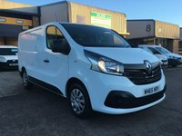 2016 RENAULT TRAFIC 1.6 SL27 BUSINESS PLUS ENERGY DCI S/R P/V 1d 120 BHP £8295.00