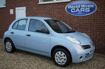 2006 NISSAN MICRA 1.2 S 5d AUTO 80 BHP £SOLD
