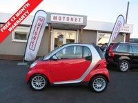 USED 2009 09 SMART FORTWO 1.0 PASSION MHD 2d AUTO 71 BHP FREE TANK OF FUEL
