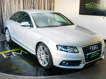 2010 AUDI A4 2.0 TDI S LINE SPECIAL EDITION 4d 141 BHP £7350.00