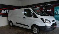 USED 2015 FORD TRANSIT CUSTOM 2.2 290 LR P/V 99 BHP