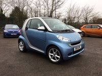USED 2011 11 SMART FORTWO 0.8 PULSE CDI 2d AUTOMATIC WITH LOW MILEAGE  NO DEPOSIT  FINANCE ARRANGED, APPLY HERE NOW