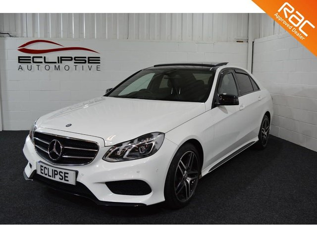 2015 15 MERCEDES-BENZ E CLASS 2.1 E220 BLUETEC AMG NIGHT EDITION PREMIUM 4d AUTO 174 BHP