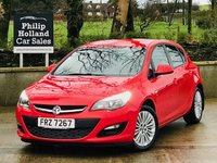 "USED 2013 VAUXHALL ASTRA 1.4 ENERGY 5d 98 BHP Rear parking sensors, Air con, Cruise control, 17"" Alloys"