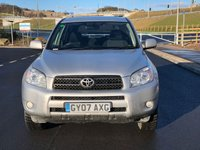 USED 2007 07 TOYOTA RAV4 2.2 XT-R D-4D 5d 135 BHP 2 PREVIOUS KEEPER *  * FULL SERVICE RECORD (7 STAMPS) *  FULL YEAR MOT *  PRIVACY GLASS *  SUNROOF *