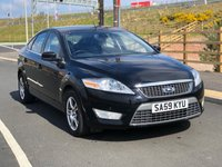USED 2009 59 FORD MONDEO 2.0 TITANIUM X TDCI 5d 140 BHP 1 PREVIOUS KEEPER *  HALF LEATHER +   PARKING SENSORS +  FULL YEAR MOT +  CLIMATE CONTROL +  SERVICE RECORD +
