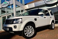 USED 2013 63 LAND ROVER DISCOVERY 4 3.0 SDV6 COMMERCIAL XS 1d AUTO 255 BHP