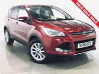 USED 2016 16 FORD KUGA 1.5 TITANIUM 5d AUTO 180 BHP 1 Owner/Sat Nav/Part Leather