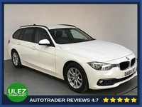USED 2016 66 BMW 3 SERIES 2.0 320D ED PLUS TOURING 5d AUTO 161 BHP EURO 6 - BMW HISTORY - ONE OWNER - SAT NAV - LEATHER - REAR SENSORS - BLUETOOTH - AIR CON - CRUISE