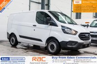 USED 2018 68 FORD TRANSIT CUSTOM 2.0 300 BASE P/V L1 H1 1d 104 BHP *DELIVERY MILES ONLY*