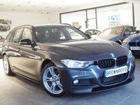 USED 2014 64 BMW 3 SERIES 2.0 320D XDRIVE M SPORT TOURING 5d AUTO 181 BHP +M PERFROMANCE STLING+X-DRIVE+
