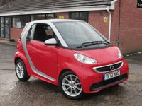 2012 SMART FORTWO 1.0 PASSION MHD 2d AUTO 71 BHP £4490.00
