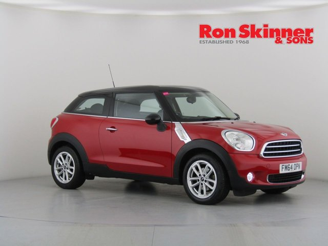 View our 2015 64 MINI PACEMAN 1.6 COOPER 3d 122 BHP with CHILI Pack + Media Pack