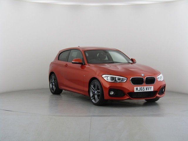 View our 2015 65 BMW 1 SERIES 2.0 118D M SPORT 3d 147 BHP