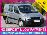 USED 2014 14 PEUGEOT EXPERT 2.0 HDI LWB 6 SEAT COMBI VAN L2H1 AIR CONDITIONING PARKING SENSORS LONG WHEEL BASE