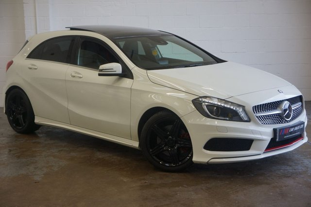2013 13 MERCEDES-BENZ A-CLASS 2.0 A250 BLUEEFFICIENCY ENGINEERED BY SOLD TO FRAZER FROM DORE  SHEFFIELD