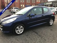 USED 2008 08 PEUGEOT 207 1.4 VTi Sport 3dr Superb Example Throughout