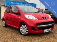 USED 2012 61 PEUGEOT 107 1.0 URBAN 5d 68 BHP New MOT Upon Sale - Only £20 Road Tax